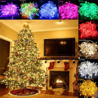 10/20M 100/200 LED Fairy String Light Christmas Wedding Xmas Party Decor