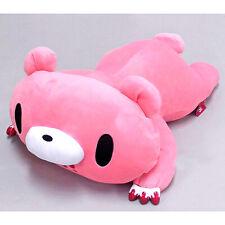 "GLOOMY BEAR Plush Doll Drowsy Pillow Pink Extra Large 46cm18"""