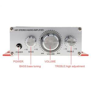 2CH 12V Handover Hi-Fi Car Stereo Amplifier Support CD / DVD / MP3 Input