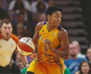 ALANA BEARD Signed 8 x 10 Photo WNBA Basketball LOS ANGELES SPARKS Championship