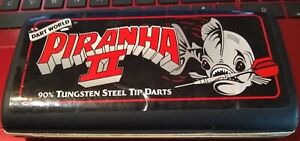 PIRANHA II STEEL TIP DARTS 90% TUNGSTEN, 22 GRAM BY DART WORLD