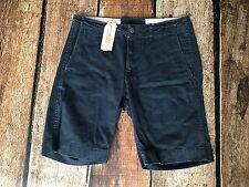 Denim Supply Ralph Lauren Chino Surplus Shorts Dark Navy Mens Size 34 New