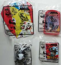 Carl's Jr Restaurant Kung Fu Panda Toys Set of 4