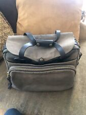 Filson Padded Computer Bag Otter Green Excellent Pre Owned Cond Laptop Briefcase