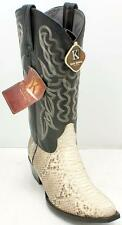 King Exotic Genuine Handcrafted Python Cowboy Men's Boots Sz 8.5 EE