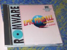 Epic Pinball Flipper PC rareza 12 mesas clásico 1996
