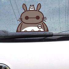 Funny My Neighbor Totoro in Baymax Random Body Windows Car Stickers Wall Decals