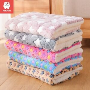 Pet Blanket Flannel Dog Cat Blanket Universal Double-sided Warm Soft Washable