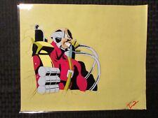"GI JOE Cartoon 12.5x10.5"" Animation Production Cel FN+ 6.5 Inferno IM-80 T-2"