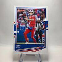 2020 Donruss Football Card 40 Josh Allen Buffalo Bills QTY
