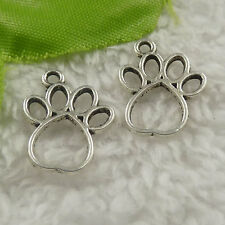 free ship 504 pieces tibet silver claw charms 19x15x1.5mm #4410