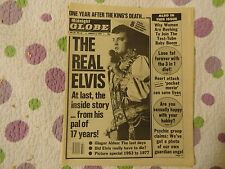 Midnight Globe The Real Elvis Presley + Ron Howard Happy Days August 8th,1978