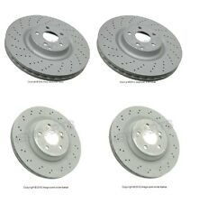 Mercedes W230 SL55 AMG Zimmermann Complete Brake Kit Front & Rear Brake Rotors
