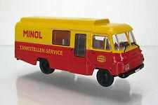 "Modelltec MCZ 03-184 IFA Robur LD 3000 Kombi "" VEB MINOL Tankstellen-Service """