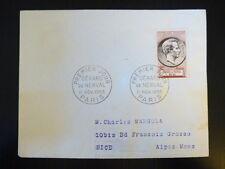 FRANCE PREMIER JOUR FDC YVERT 1043   GERARD DE NERVAL   12F    PARIS   1955