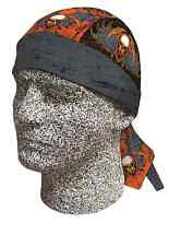 Old Warrior Punisher Skull Doo Rag Headwrap Skull Cap Durag Sweatband Capsmith