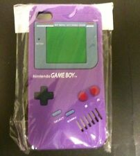 NEW Purple Silicone Game boy Original Style Case Cover for Apple iPhone 4 4S