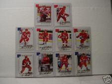 1997/98 Pinnacle Hockey Complete Sets of Series A & B