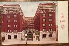 DL544 St Luke's Hospital Chicago Illinois IL 1915 Vintage PC