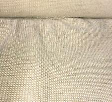 LIGHT GOLD MINI SQUARES HEAVY RUSTIC UPHOLSTERY FABRIC SOFT TOUCH NEW BY THE YD