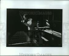 1988 Press Photo Gary Burton and Chick Corea on vibraharp and piano - mja57942