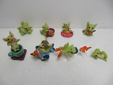 Whimsical World of Pocket Dragons Lot of 8 Heart Glub Coffee Fix flyer flowers