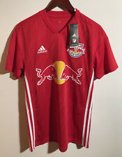 Adidas New York City Red Bulls Climalite Jersey New With Tags