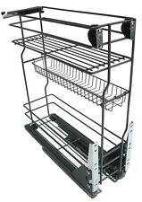 Korb Schrankauszug Küchenunterschrank für Unterschränke 15 20 30 40 50 60cm #7