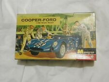 VINTAGE MONOGRAM COOPER-FORD 1/32 SCALE MODEL PC100-100 1964 MADE IN U.S.A.