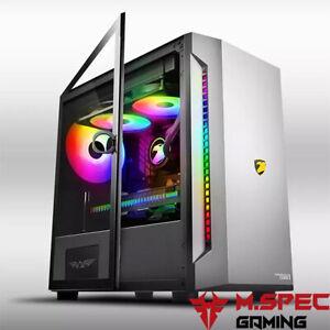 Micro-ATX Gaming PC Case  Armaggeddon TESSARAXX Core 1 without Fan/Strip