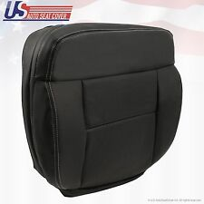 2008 Ford F-150 Lariat Driver Side Bottom Perforated Leather Seat Cover Black