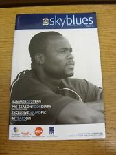 06/08/2006 Coventry City v Sunderland  . Thanks for viewing this item, buy with