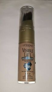 LOREAL VISIBLE LIFT SMOOTH ABSOLUTE FOUNDATION SPF17 164 CREAMY NATURAL unsealed