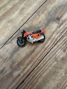 Diecast Matchbox Lesney Honda Motorcycle 1974 England CB 750 KO Hondaroro Orange