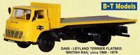 Leyland Terrier Flatbed - British Rail Suitable 1/76 Oxford,
