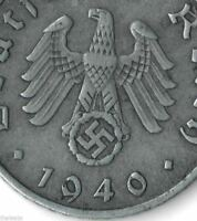 Rare Very Old Antique Germany WWII Army Collectible RP Great War Collection Coin