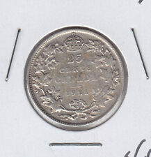 1921 Canada Victoria Twenty Five Cents