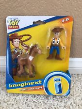 Fisher Price Imaginext Disney Toy Story Woody & Bullseye Action Figure 2019
