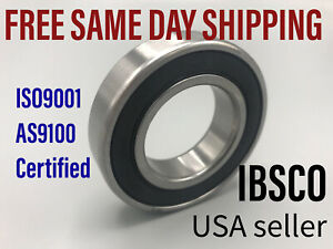 6907-2RS 6907DD (lot of 2) Sealed Metric Thin Ball Bearing 35 x 55 x 10mm