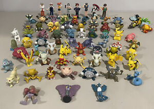 LOT OF 76 - POKEMON ACTION FIGURES TOYS TOMY CGTSJ GEN 1 BLASTOISE ASH GARY READ