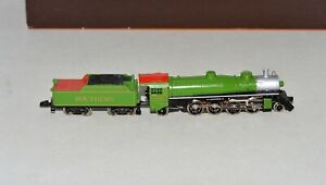 Z Scale Marklin 8807 2-8-2 Mikado Southern 4501 Steam Locomotive Runs great #28