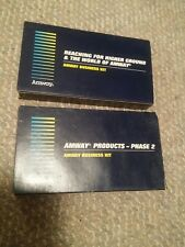 000 2 VTG Amway Business Kit VHS Tapes 1990's Higher Ground Products World Of