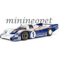 SOLIDO S1805501 1982 PORSCHE 956 LH #1 24HR LE MANS MARTINI 1/18 WHITE BLUE