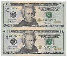 Scarce $20 2004 Kansas City District 1st Printing 3.2Mil Printed Star GEM CU