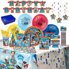 Birthday Bash In A Box Party Supplies (Paw Patrol) FREE SHIPPING IN THE US!
