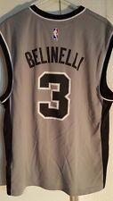 Adidas NBA Jersey San Antonio Spurs Marco Belinelli Grey Alt sz XL
