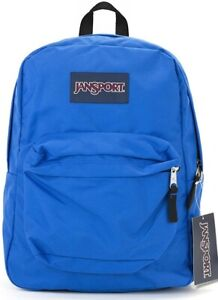 JanSport Superbreak School Backpack Blue Streak A Must Have Buy it SHIPS FAST!