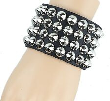 Conical Studded Gothic Bracelet Punk Rock Thrash Metal