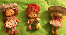 New ListingLot Of Vintage 1980's Strawberry Shortcake, Apple Cuddler Dolls, Clothing & More