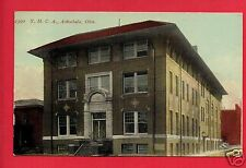 ASHTABULA OH YMCA  1914 HAZEL SWEET  VERE SMITH FOREST OHIO   POSTCARD